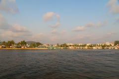 Шлюпки в порте Phu Quoc, Вьетнама стоковое изображение rf