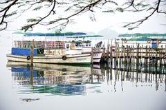 Шлюпки в Cochin Стоковые Изображения RF