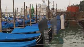 Шлюпки гондолы Венеции Стоковая Фотография