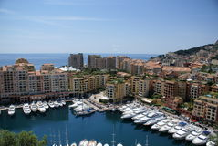 шлюпки Монако Стоковое Фото