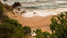 Шлюпки на береге Стоковое фото RF