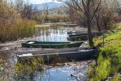 Шлюпки на воде Стоковое фото RF