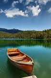 Шлюпки на озере Стоковые Изображения RF