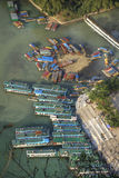 Шлюпки на реке li xingping Стоковые Фотографии RF