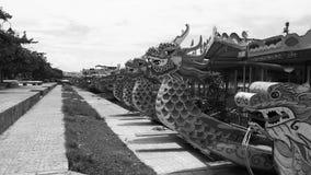 Шлюпки дракона стоковые фото