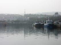 Шлюпки Howth - Дублин, Ирландия Стоковые Изображения RF