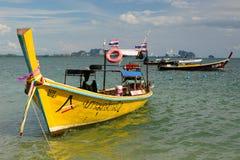 Шлюпки Longtail Mook Koh Таиланд Стоковое Изображение RF
