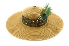 Шляпа дамы Стоковое Фото