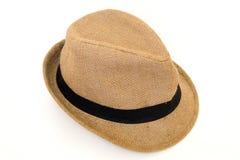 Шляпа изолированная на белой предпосылке стоковые фото