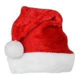 Шляпа красного цвета Санта Клауса Стоковое фото RF