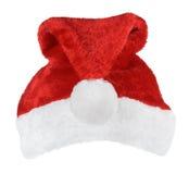 Шляпа красного цвета Санта Клауса Стоковое Изображение