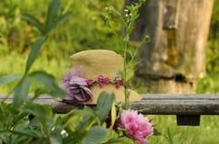 Шляпа на стенде Стоковая Фотография