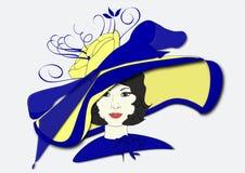 Шляпа дня Дерби Millicent Стоковые Фотографии RF