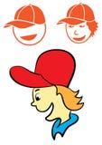 Шляпа пользы мальчика Стоковые Изображения