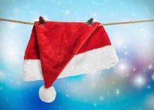 Шляпа Санта Клаус рождества Стоковое Изображение RF
