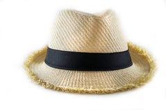 Шляпа соломы Стоковая Фотография