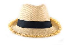 Шляпа соломы Стоковые Фото