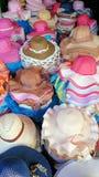 Шляпа, сладостный цвет Стоковое Изображение