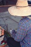 Шляпа человека носит для продажи Стоковое Фото
