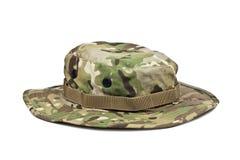 Шляпа Boonie на белой предпосылке Стоковые Изображения RF