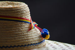 Шляпа Maramures традиционная Стоковые Фото
