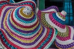 Шляпа Wooven Стоковые Фото