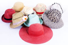 Шляпы группы Стоковые Фотографии RF