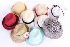 Шляпы группы Стоковое Изображение RF