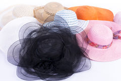 Шляпы группы Стоковые Изображения