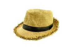 Шляпы: Соломенная шляпа Стоковые Изображения RF