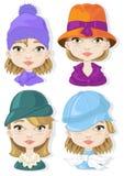 Шляпы Стоковая Фотография RF