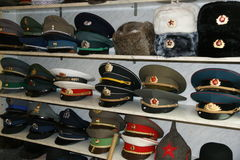 Шляпы Bearskin стоковая фотография rf
