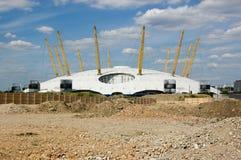 щебень тысячелетия greenwich купола Стоковая Фотография RF
