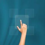 Щелкать руки дела Стоковое фото RF