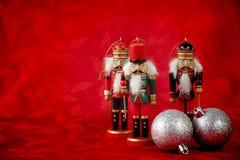 Щелкунчики рождества Стоковое фото RF
