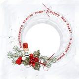 Щелкунчик рамки рождества Стоковые Изображения RF