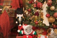 Щелкунчик украшений рождества Стоковые Изображения