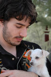 щенок влюбленности Стоковое Изображение RF