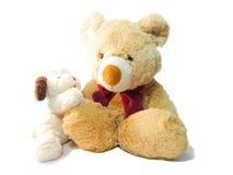 Щенок куклы плюшевого медвежонка Стоковое Изображение RF