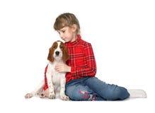щенок малыша с Стоковые Изображения