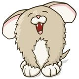 щенок шаржа Стоковое Фото