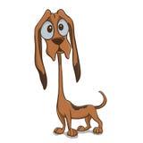 Щенок Bloodhound бесплатная иллюстрация