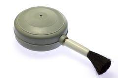 Щетка воздуходувки для очищать. Стоковое фото RF