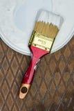 Щетка с краской Стоковое Фото