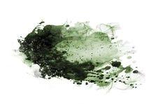 Щетка цвета графика цвета воды заплат штрихует заплаты Стоковые Фото