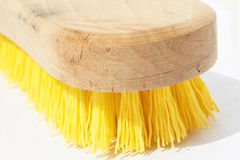 щетка scrub деревянным Стоковые Фото