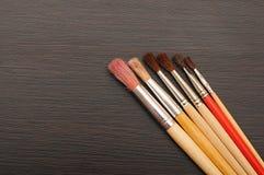 Щетки краски Стоковое Изображение