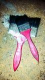 щетки проверяют иллюстрации конструкции больше моего портфолио краски пожалуйста Стоковые Фотографии RF