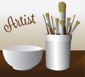 Щетки художника бесплатная иллюстрация