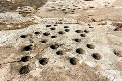 Щели для почты Gobekli Tepe стоковое фото rf